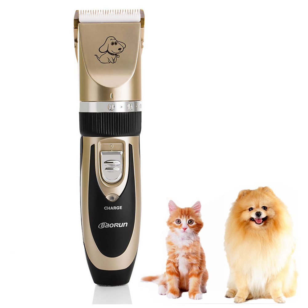 Professional Grooming Kit Pet Dog Hair Trimmer Electric Rechargeable Clipper Shaver Animal Haircut Machine Comb Kits(China (Mainland))