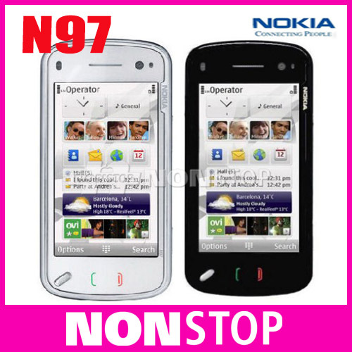 Unlocked Original Nokia N97 Internal 32GB mobile phone GSM 3G GPS WIFI 5MP 1 Year Warranty(China (Mainland))