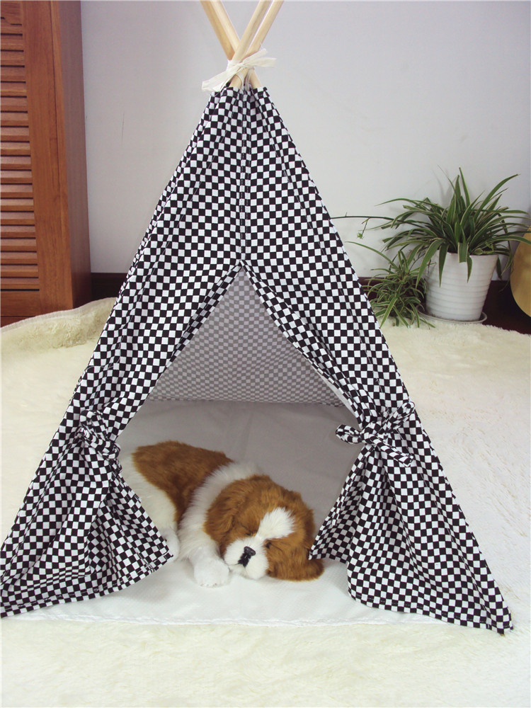 Every kid is a little prince or princess a kids indoor play tents will no doubt give them a good feeling. There are ultra large beach mickey mouse play ... & Wholesale-New black and white color Dog Bed Dog House Pet play ...