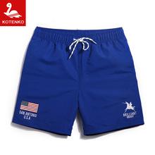 Qick Dry Men Beach Swim Shorts Trunks Swimwear Swimsuits Mens Swimming Swim Board Surf Shorts Trunks Male Running Sports Shorts