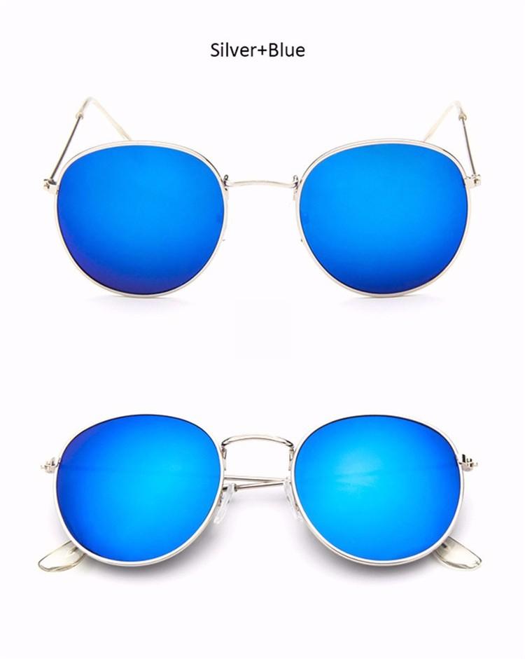 Luxury Vintage Round Sunglasses Women Brand Designer Female Sunglass Points Sun Glasses For Women Lady Sunglass Mirror 2017 Rays (9)