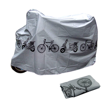 210*100 Bike Cycle Bicycle Protector Cover Waterproof Dustproof Rain Dust Cover  Garage Scooter Motorcycle Cover 1pc(China (Mainland))