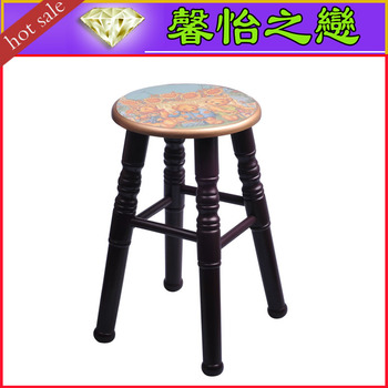 A variety of style solid wooden bar stools dressing stool large stool 22-045 - l manufacturers selling arts and crafts