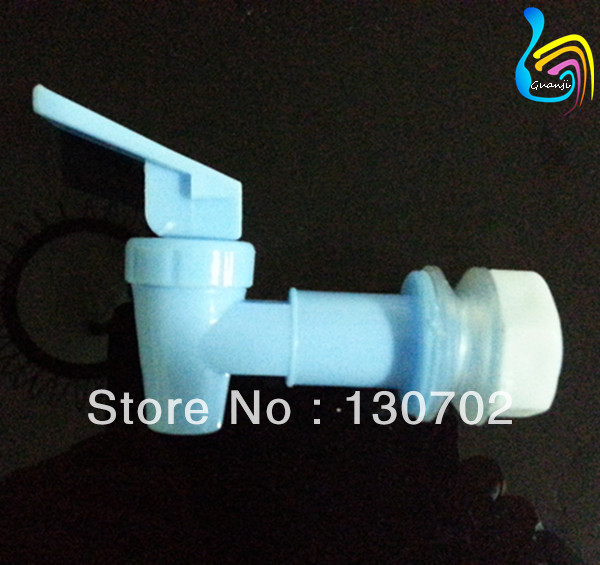 GJ-111 water dispenser parts for taps and faucet white color economical plastic water faucet(China (Mainland))