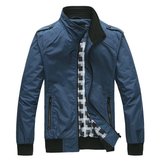 2015 Brand Men Jacket Fashion Casual Jackets For Man Outdoors Sports Windproof Good Quality Mens ...