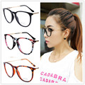 Retro round eyes glasses frame men women vintage myopia eyeglasses frame plain glasses oculos de grau