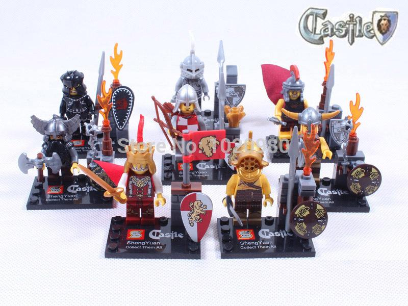 Castle Star Wars 2014 Clone Darth Vader C-3PO Maul Buliding Block Set Action Toys Figure - askformore store
