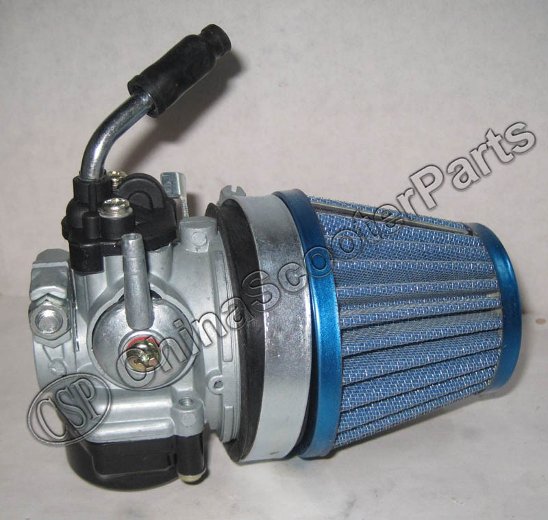 Dellorto Air Cleaner : Dellorto style sha mm carburetor carb with air filter