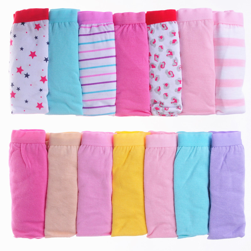 7PCS lot Women Briefs Cotton Sexy Panty Lace Panties Underwear Cuecas Box Ladies Underpants 2014 plus