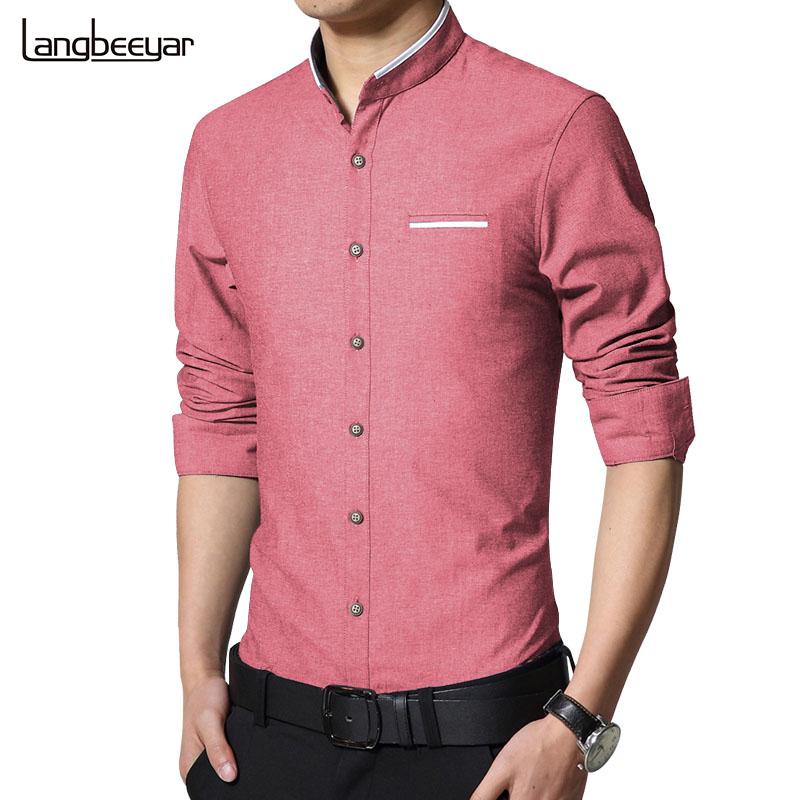 2016 Nova Moda Casual Homens Camisa de Manga Comprida Fique Cor Fino Fit Homens Camisa Camisas de Vestido Dos Homens de negócios Coreano Roupas Masculinas 5XL(China (Mainland))