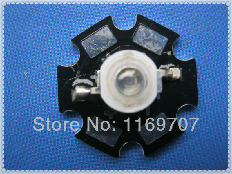 LED 1W UV Diode 375NM 3 Years Warranty Included PCB Star Board Heatsink 20pcs/Lot Free Shipping(China (Mainland))