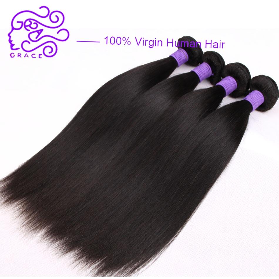 Malaysian Virgin Hair Straight 7a Unprocessed Virgin Human Hair 4 Bundles Cheap Human Hair Straight Virgin human hair extension<br><br>Aliexpress