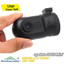 Mini 0805 Car Camera 1080P Full HD Video Recorder Procam Cx4 Ambarella A7 A7la50 + OV4689 + GPS + Night Vision Mini Car DVR(China (Mainland))