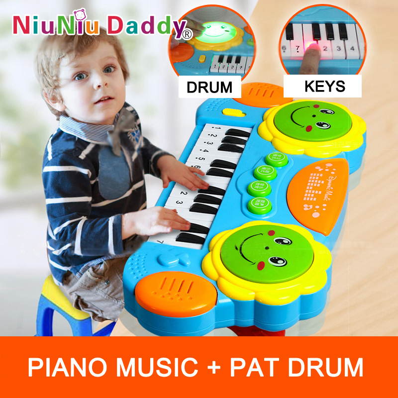 Kids Educational Toy Early Learning Pat drums Baby Developmental Toys music toy baby playing toys(China (Mainland))