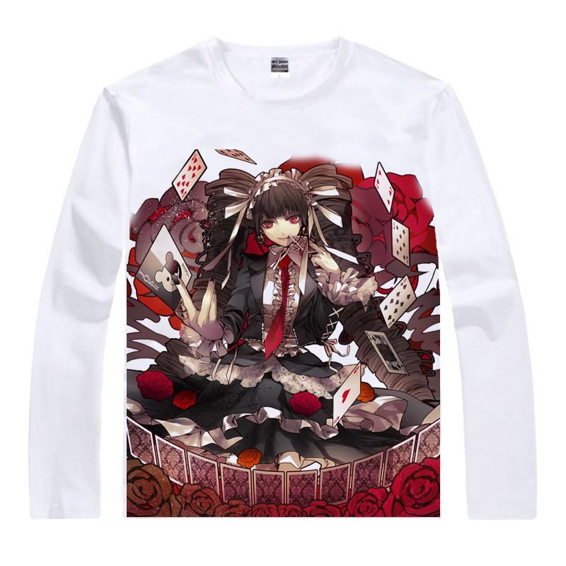 Japanese Danganronpa anime sports t-shirt Monokuma lit. Monobear cotton shirt Makoto Naegi Cosplay Christmas Costumes clothing  HTB1h4GZGFXXXXXDXpXXq6xXFXXXc