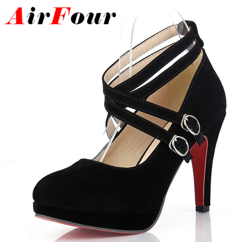 Online Get Cheap Black Strappy Pumps -Aliexpress.com | Alibaba Group