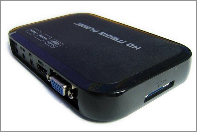 Full HD 1080P USB External HDD Media Player with HDMI VGA SD support MKV H.264 RMVB WMV Brand New(China (Mainland))