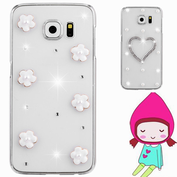 mobile Phones & Accessories Rhinestone case For samsung galaxy S i9000 i9001 T959 9000 diamonds bling crystal back bag cover(China (Mainland))