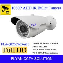 HD 1080P Analog cctv outdoor camera AHD H L IMX322 security product, 960H, OSD menu, 2LEDs, Lens, DWDR, 3-Axis bracket - Flyan Electronics Technology Co.,Ltd store
