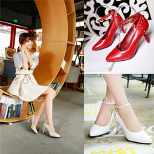 2015 summer new sweety round-toe solid simple women pumps high heel women pumps Comfortable and breathable women shoes x085(China (Mainland))