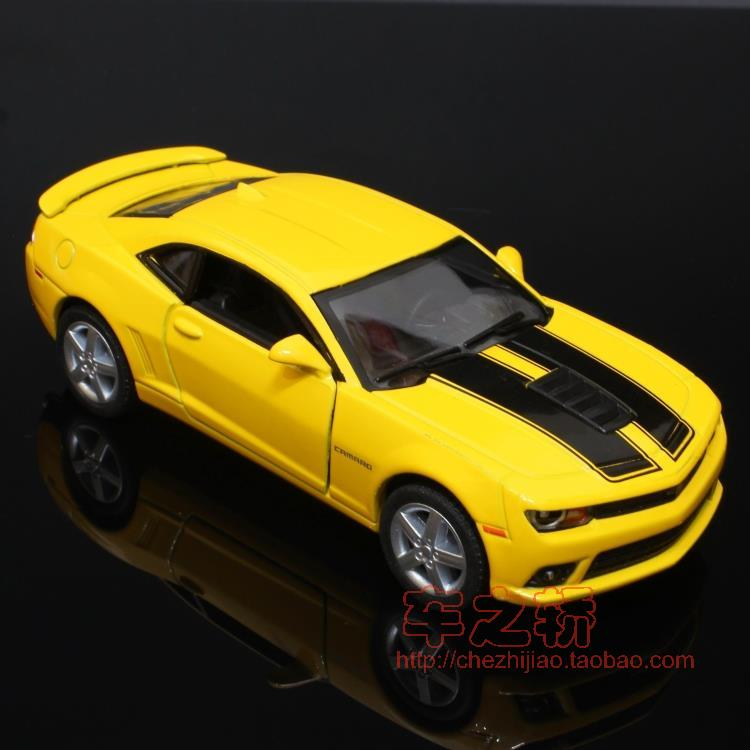Brand New Cool 1/36 Scale Diecast Car Model Toys Vintage Chevrolet Camaro SS (1969) Metal Pull Back Car Toy For Children Gift(China (Mainland))