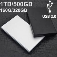 "2015 nouvel ordinateur portable d'origine disque dur externe 2.5 "" usb 2.0 HDD 1 TB / 500 GB / 60 / 160 / 320 / 640 / 750 GB disque dur disco duro externo(China (Mainland))"