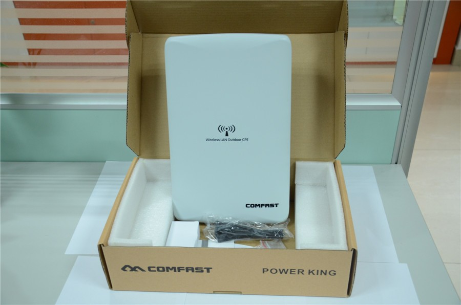 Wifi hotspot AR9341 High power outdoor wi fi router 300Mbps wireless poe access point outdoor antenna wifi bridge cf-e316n cpe(China (Mainland))