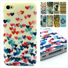 2015 Hot Selling New fashion Cat Mobile phone cover for apple iphone 4 4g 4s skin Phone shell back case cover,MY157