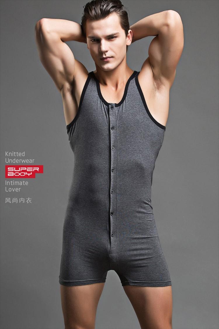 Wholesale mens spandex bodysuit body shaper for man mens for Mens dress shirt onesie