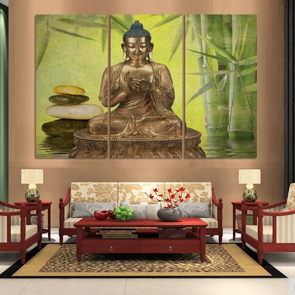 wohnzimmer buddha style verschiedene