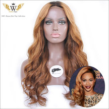 Free Shipping Malaysian Straight Hair Wig Ombre Glueless Human Hair Full Lace Wigs For Black Women WIth Baby Hair