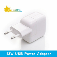 2.4A Fast Charging 12W USB Power Adapter Travel Charger for iPhone 5s 6 Plus iPad Mini Air Samsung Phone and Tablet for Euro(China (Mainland))