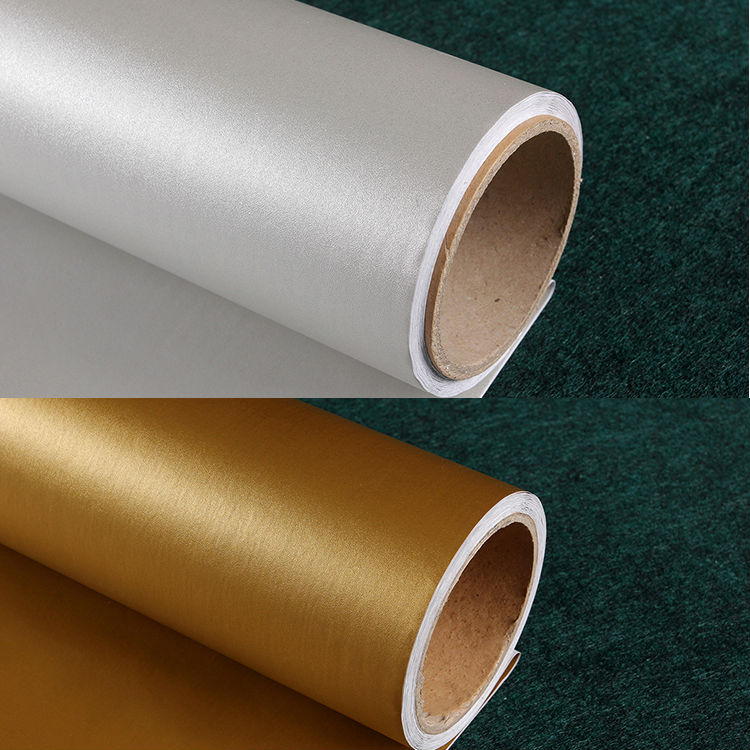 Self adhesive vinyl wallpaper wall paper rolls for kitchen for Papel adhesivo para muebles ikea
