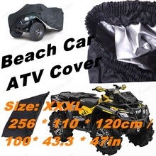 NEW 2016 High Quality Universal Quad bike ATV Cover Water Proof XXXL SIZE Case Tent Beach Car ATV Cover Trike Motorcycle Cover(China (Mainland))