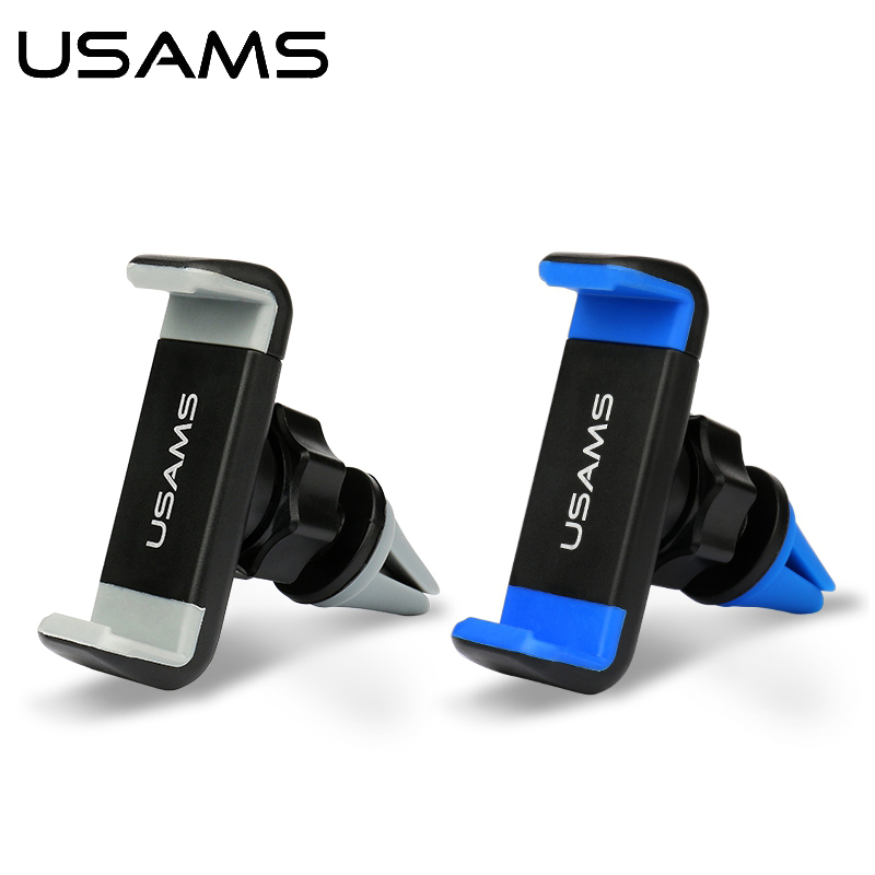 Car Phone Holder USAMS 360 Rotation Air vent mount Universal Mobile Phone Holder for iPhone Samsung HTC LG Xiaomi Sony(China (Mainland))
