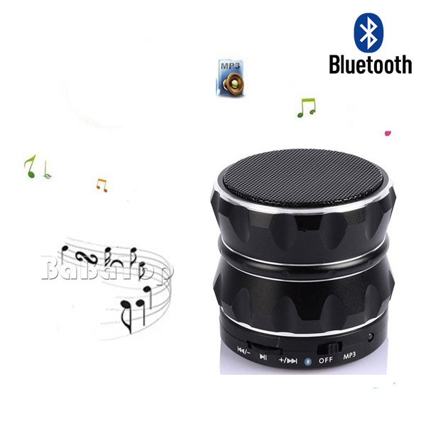 Bluetooth Mini Metal Speaker portable consumer electronics outdoor sports audio support TF card player