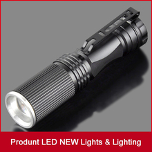Buy CREE LED Flashlight Mini Black CREE 2000LM Waterproof Q5 LED Flashlight Zoomable LED Torch Penlight Flashlight for $2.86 in AliExpress store