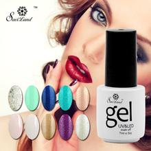 Saviland Gel Nail Polish Gorgeous 58 colors long Lasting Gel Lacquer Varnish Nails Art Manicure Glitter UV Nail Gel(China (Mainland))