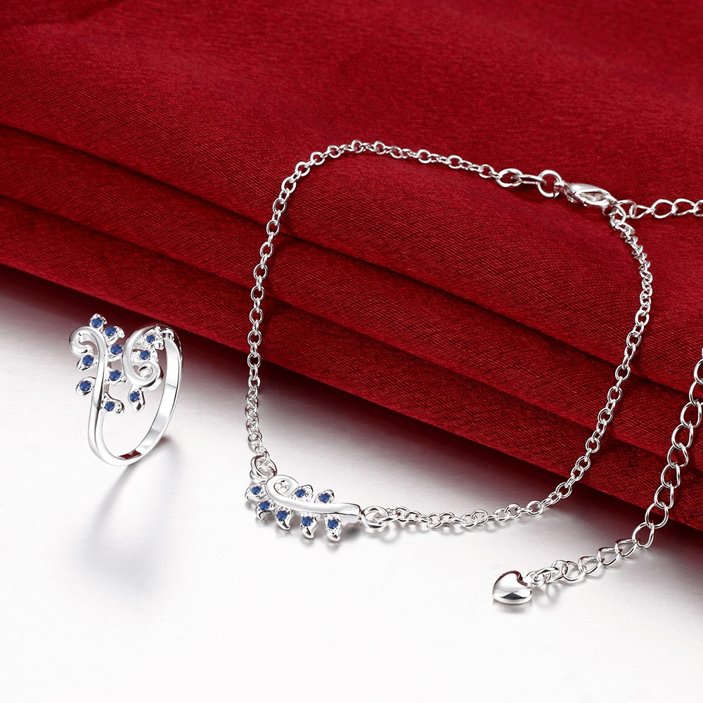 New Arrival Fashion Ring Set Association Vine Ring Anklet Set Hot Sale In China(China (Mainland))