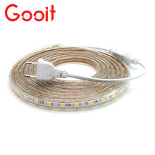 Buy 220V LED Strip SMD5050 Flexible Decoration Lighting Waterproof LED Tape Power Plug 1M/2M/3M/4M/5M/6M/7M/8M/9M/10M/15M/20M for $5.34 in AliExpress store