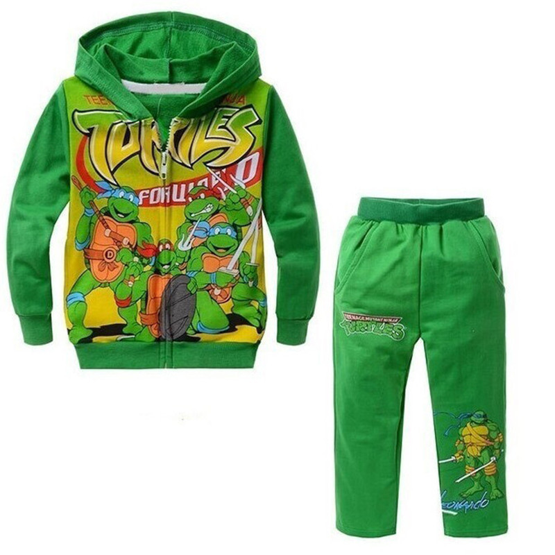 Retail Sale!Cartoon Suits In The Spring Of 2015 The Autumn Hot Boy Set Hoodie + Pants With The Boy Clothing Stes Exempt Postage(China (Mainland))