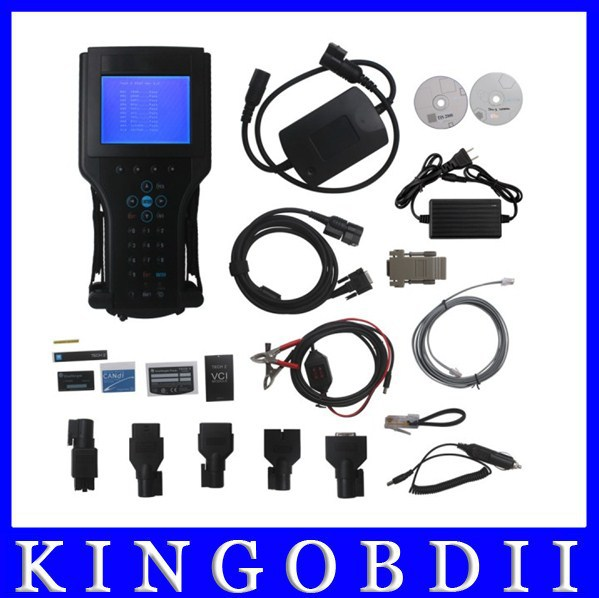 Best quality with plastic box!!obd opel gm tech2 diagnostic tool with tis2000 and candi,tech2 software update free dhl hot sale(China (Mainland))