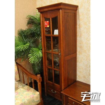 Free Shipping Solid wood ash cabinet office storage cabinet theroom accessories cabinet wine cooler m07-j620