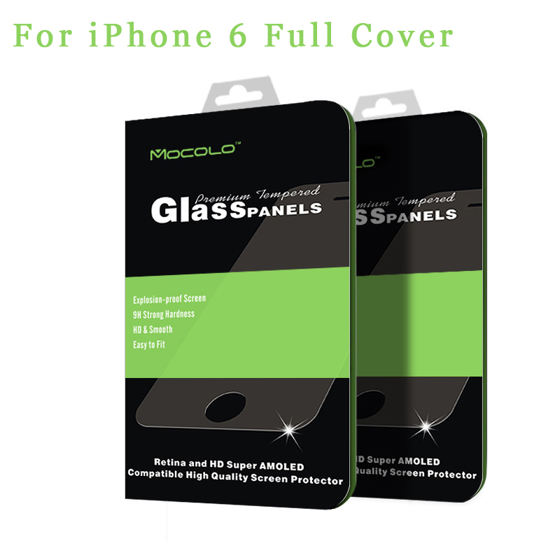 3D Full Cover Premium Tempered Glass Screen Protector for Apple iPhone 6 6s 4.7 inch glass film Mocolo Brand Original 0.33mm(China (Mainland))