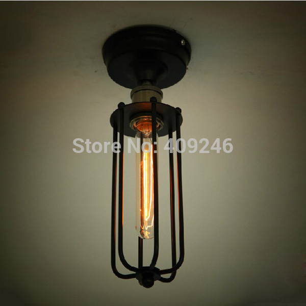 LOFT Industrial Edison Bulb T185 Rusty Color Vintage Style Ceiling / Wall Lamp (Including bulb) Cafe Bar Club(China (Mainland))