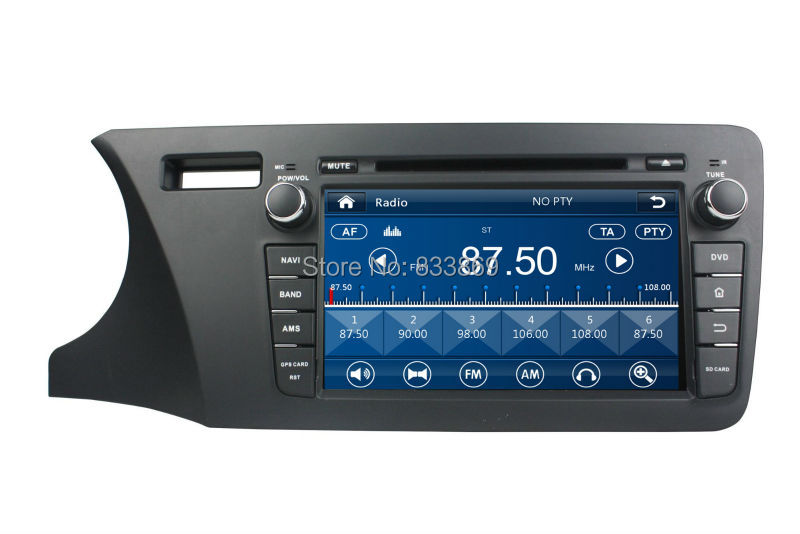 Touch screen HD 2 din 8 font b Car b font DVD Player for Honda CITY