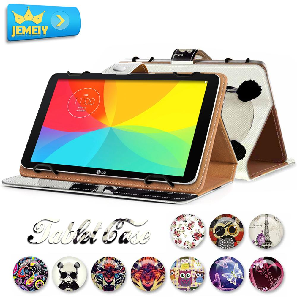 "8"" Universal Stand Tablet Foldable Leather Case For LG G Pad X 8.3/LG G Tablet 8.3 V500 /LG Optimus Pad 2 Tablet Wallet Cover(China (Mainland))"