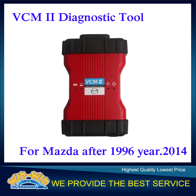 2015 Newest Software V94.03 VCM II VCM2 IDS Car Diagnostic Tool for Mazda After 1996 Year.2014 With Multi-languages(China (Mainland))