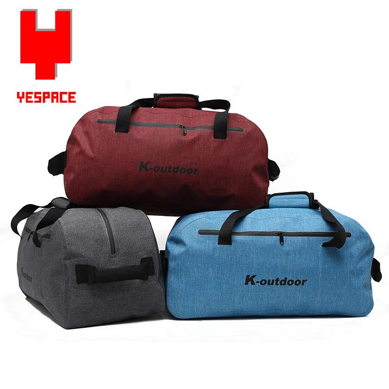 Style Oxford TPU Material waterproof gym bags dry bag women/man camping dry bag zipper hand travel bag KQ0047(China (Mainland))