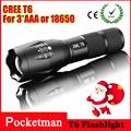 1pcs 2000Lumens cree led לפיד Zoomable cree LED קמפינג לייזר ציד פנס לפיד אור